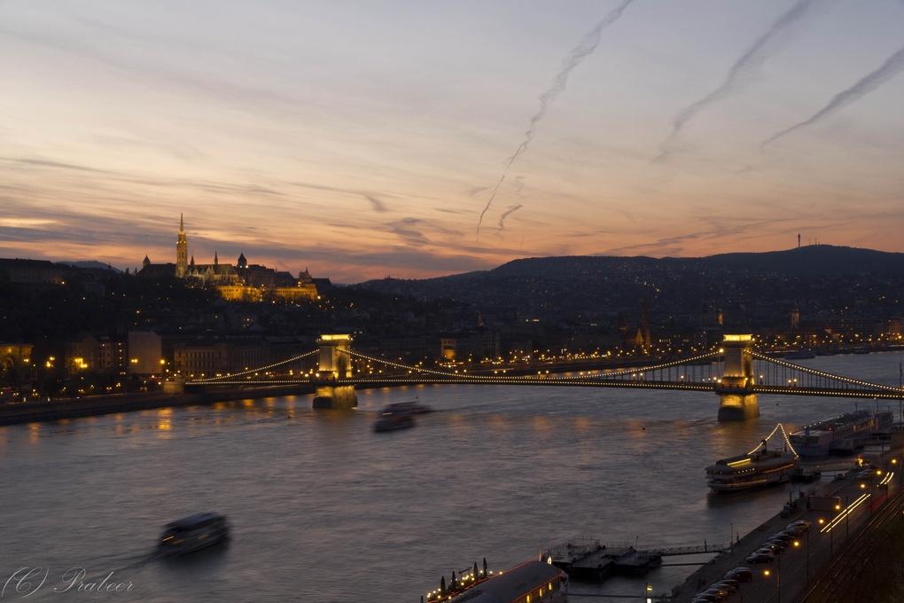 Across the Danube by Prabeer Patankar