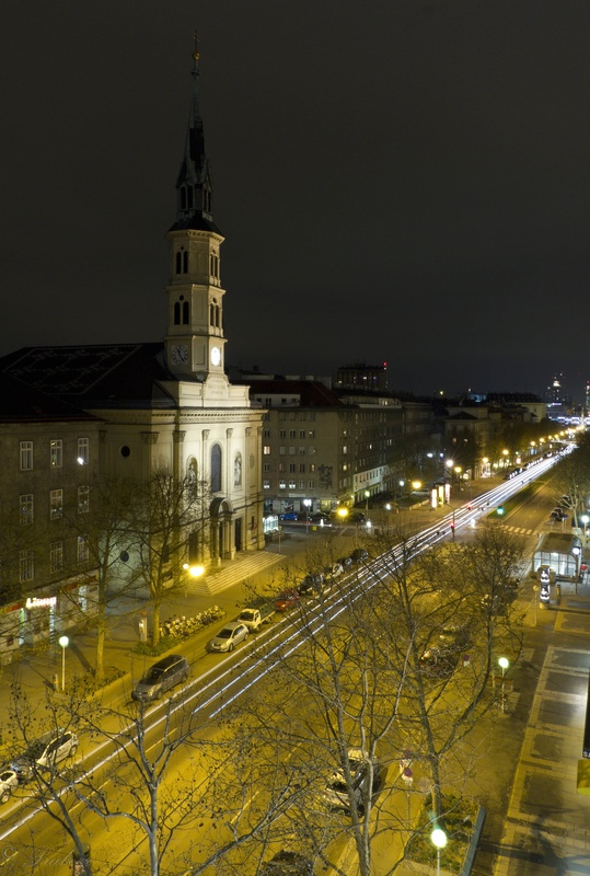 A Church in Vienna by Prabeer Patankar
