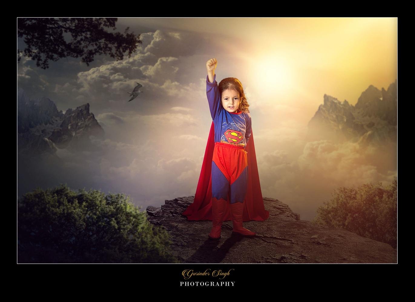 Superman by Gurinder Singh