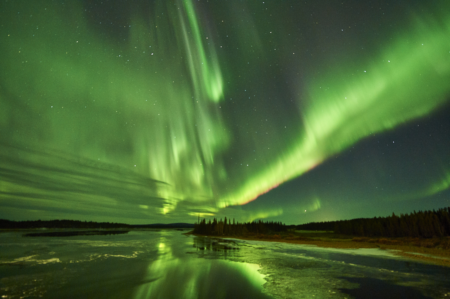 Aurora Borealis at Lappeasuando by Tommy Galskjær