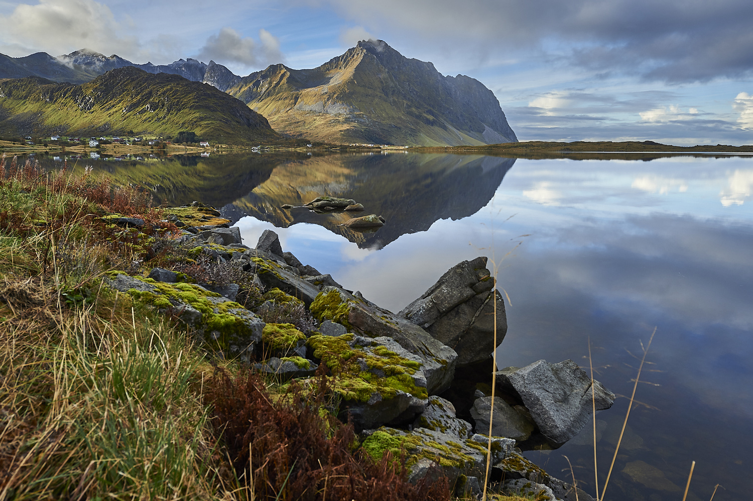 On the way to Eggum by Tommy Galskjær