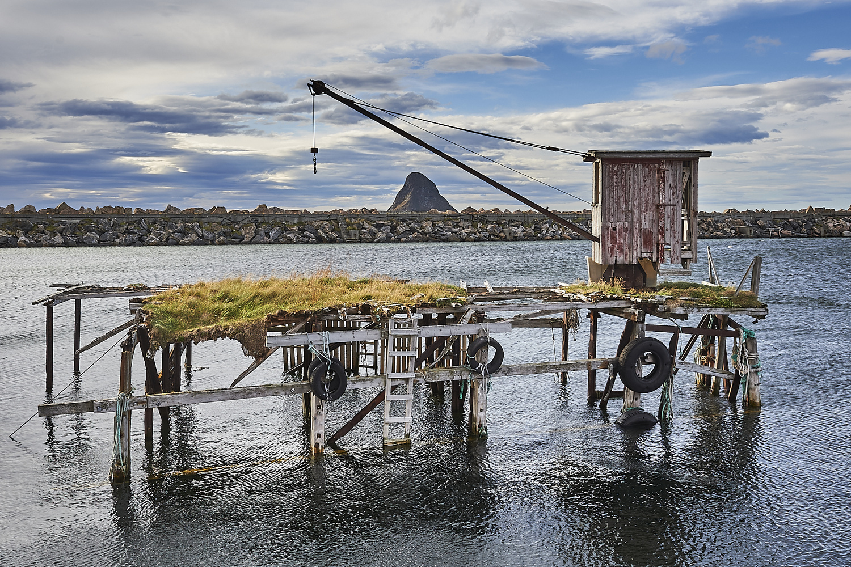 The Old Loading Dock by Tommy Galskjær