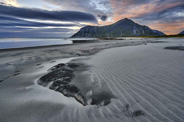 Skagensanda Sunset by Tommy Galskjær