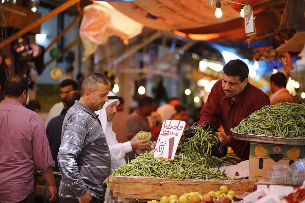 Farmer's Market by Bashar Alaeddin