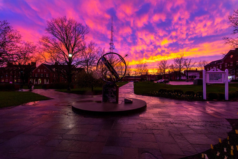 Sundial Sunset by Ricardo Treviño Jr.