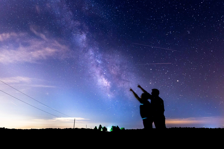 Milky Way Stargazers by Ricardo Treviño Jr.