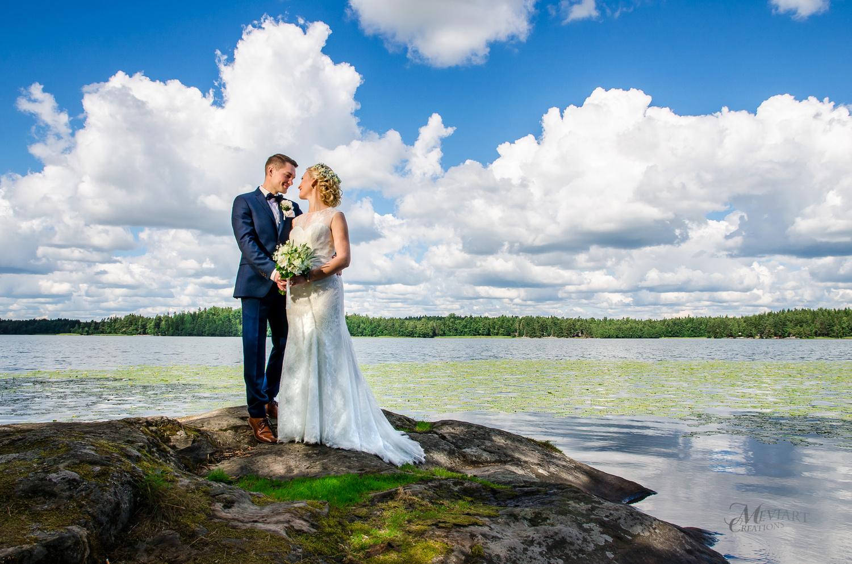 Love by the lake by Mikko Vuorinen