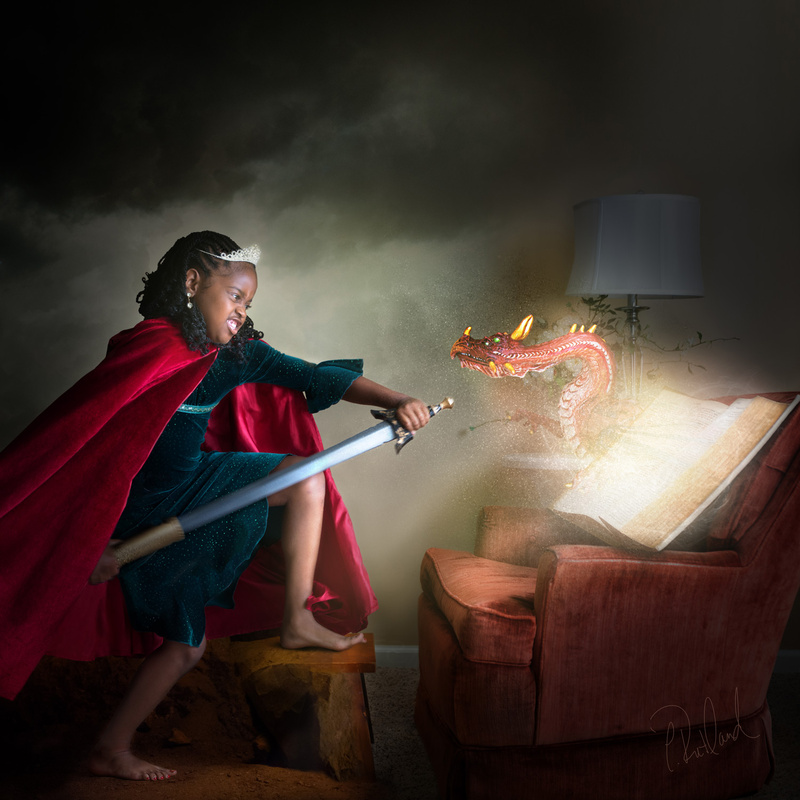 The Magic of Literacy: The Princess and the Dragon by Caroline Rutland