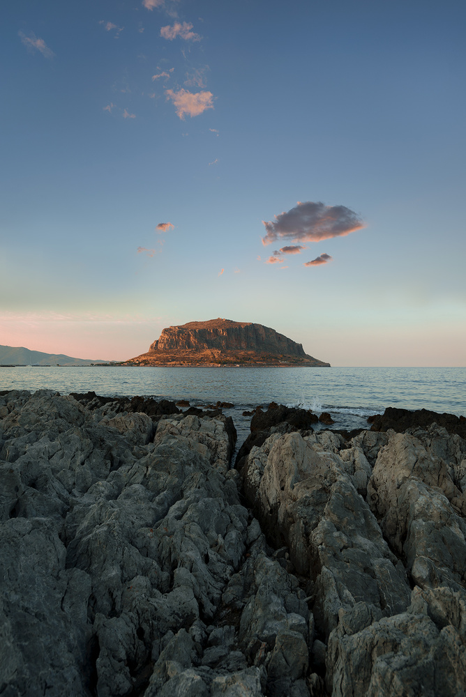 The Monemvasia Ridgeline by Bill Peppas
