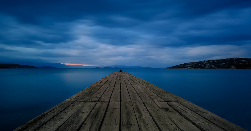 The Dock of the Lonely Heart by Bill Peppas