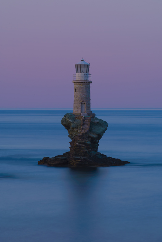 Lighthouse Blues by Bill Peppas