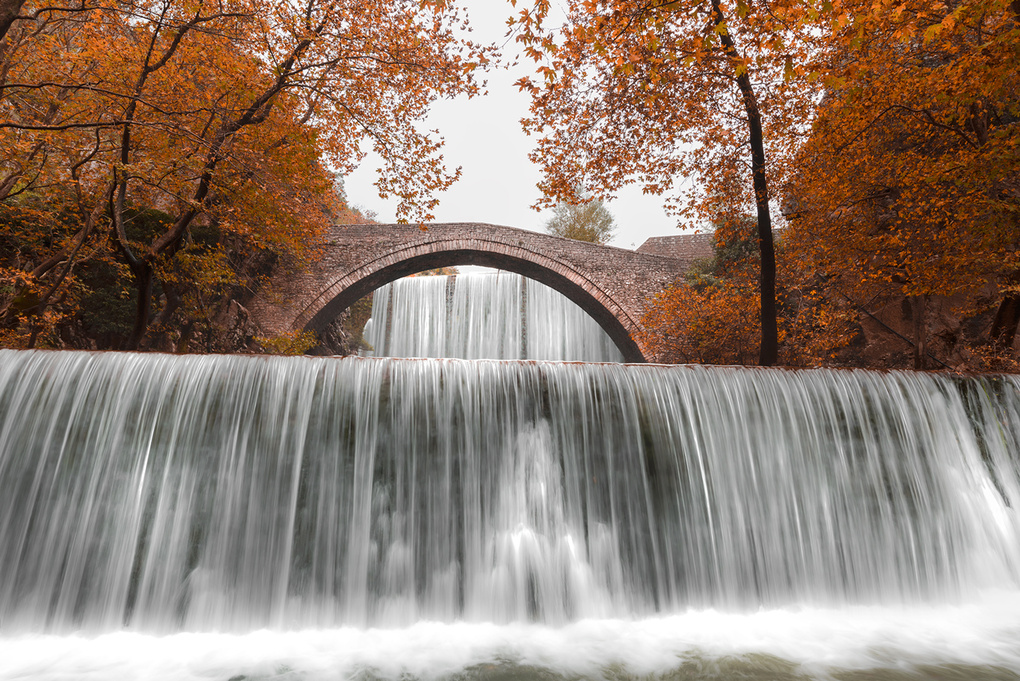 Autumnal Flow by Bill Peppas