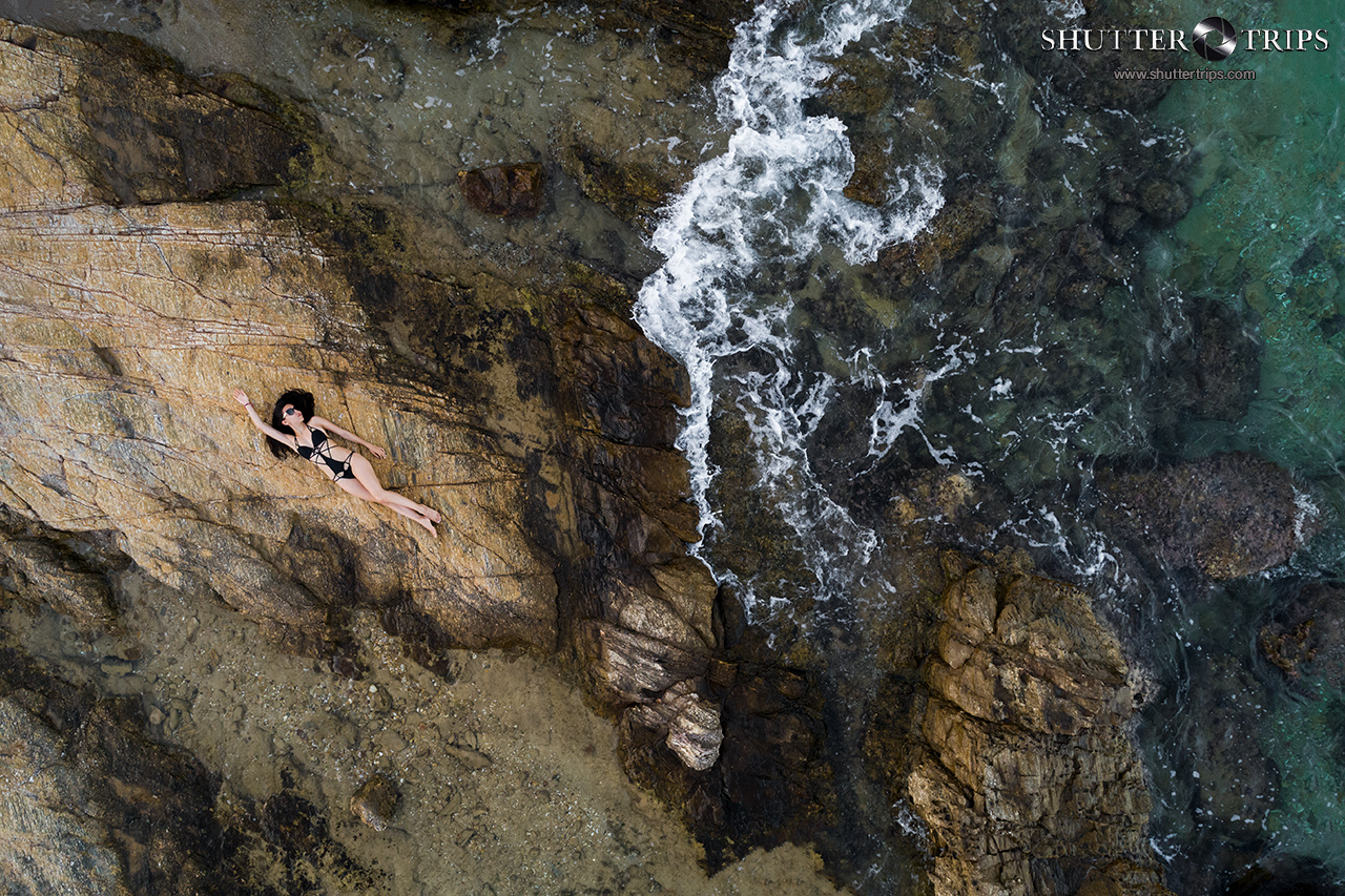 Billie on the Rocks by Bill Peppas