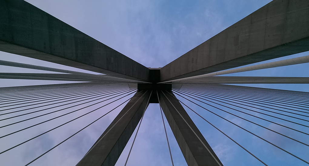 HTC One Mini does Architecture at Rio's Bridge by Bill Peppas