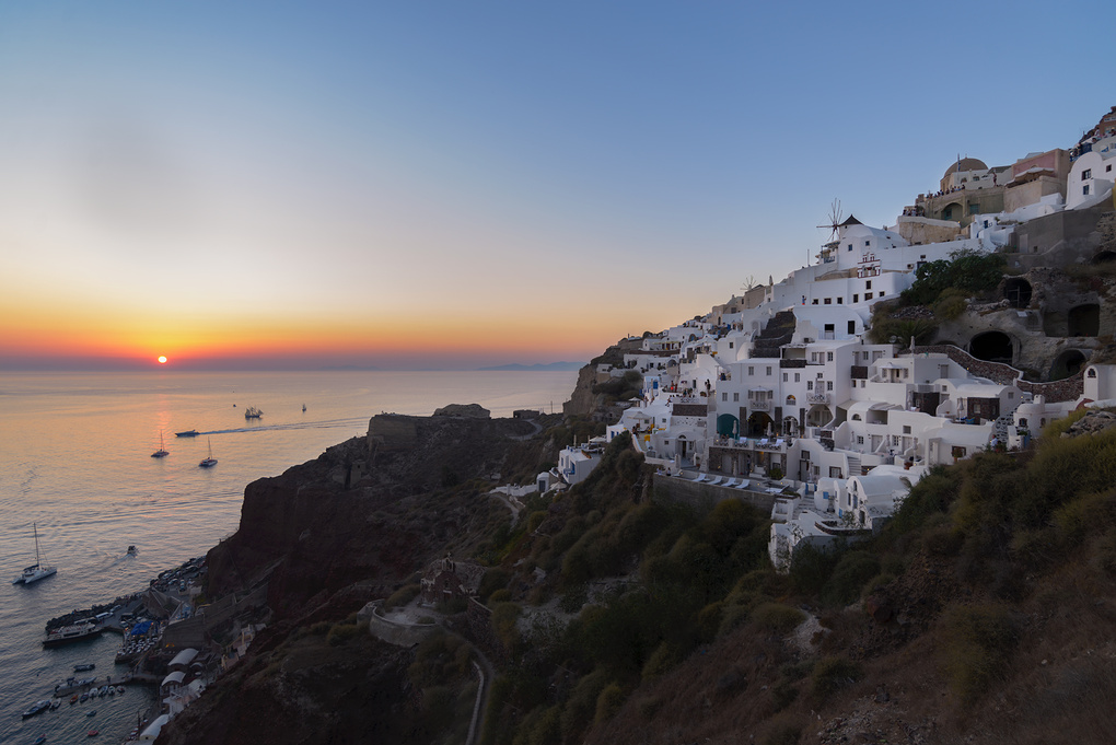 Santorini Oia Sunset Quick 'n' Dirty Edit by Bill Peppas