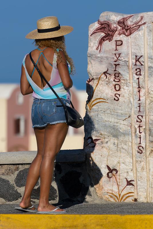 Finally found the elusive Pyrgos Kallistis! by Bill Peppas