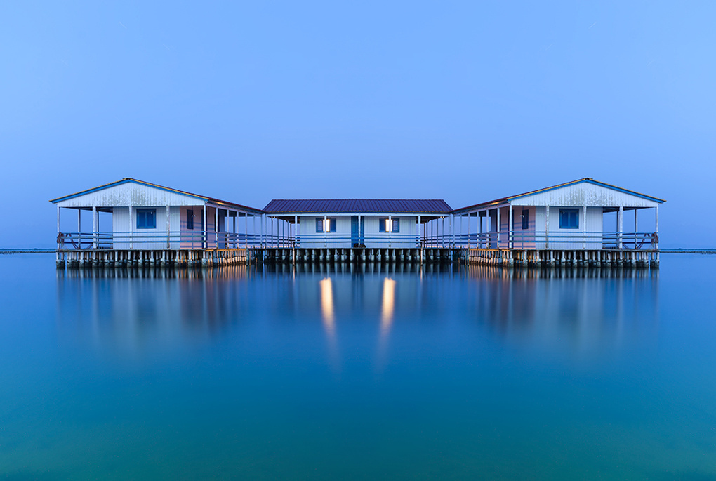 The Floating House by Bill Peppas