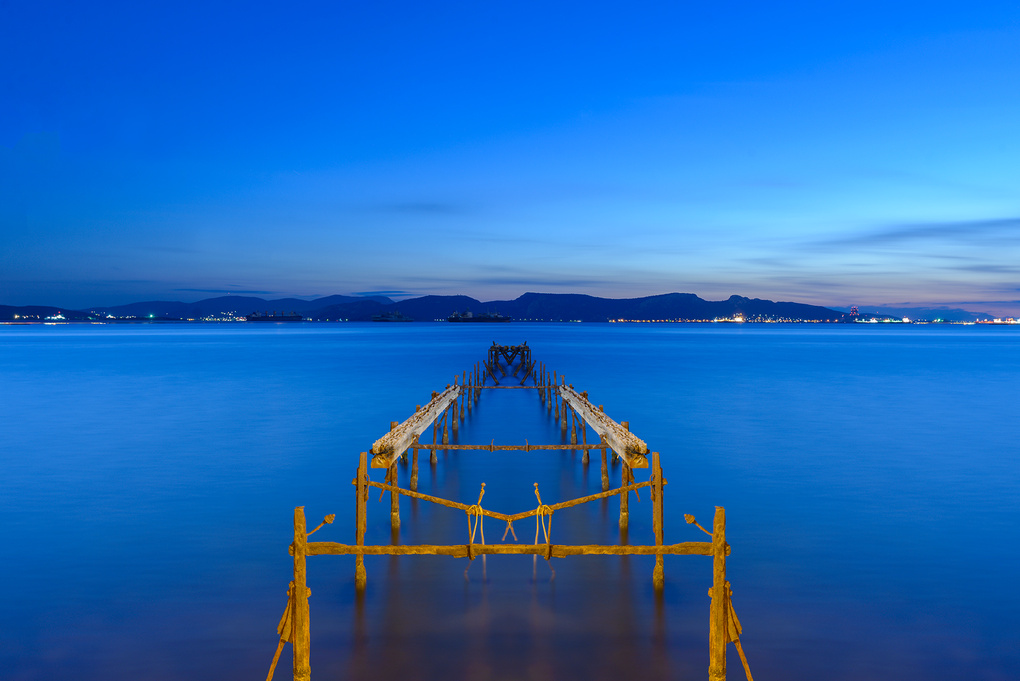 From Dock till Dusk by Bill Peppas