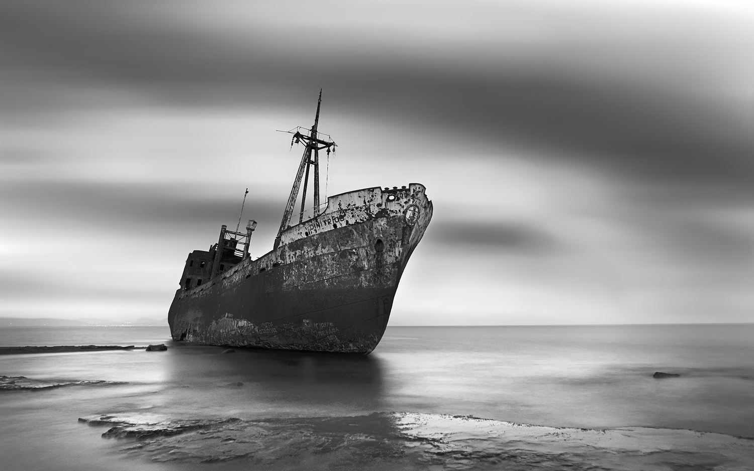 The Shipwreck III by Bill Peppas