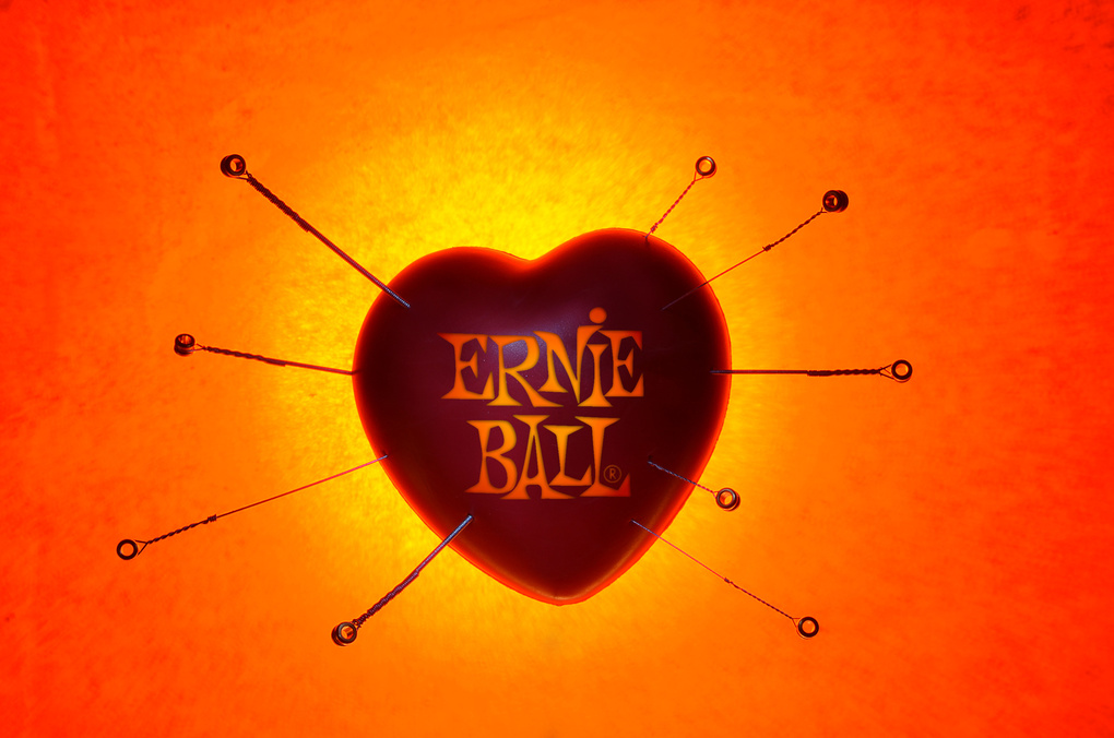 Ernie Ball - Heart Strings by Marty Lang