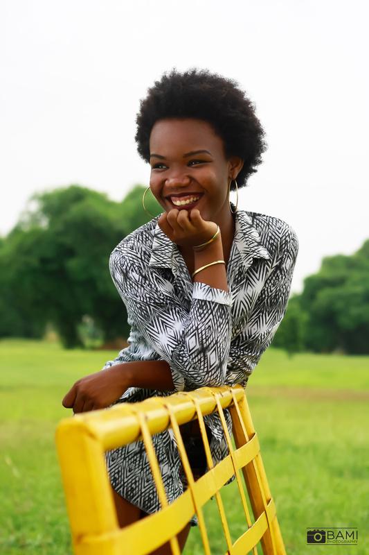 portrait of Stephnie by Bami Ogungbe