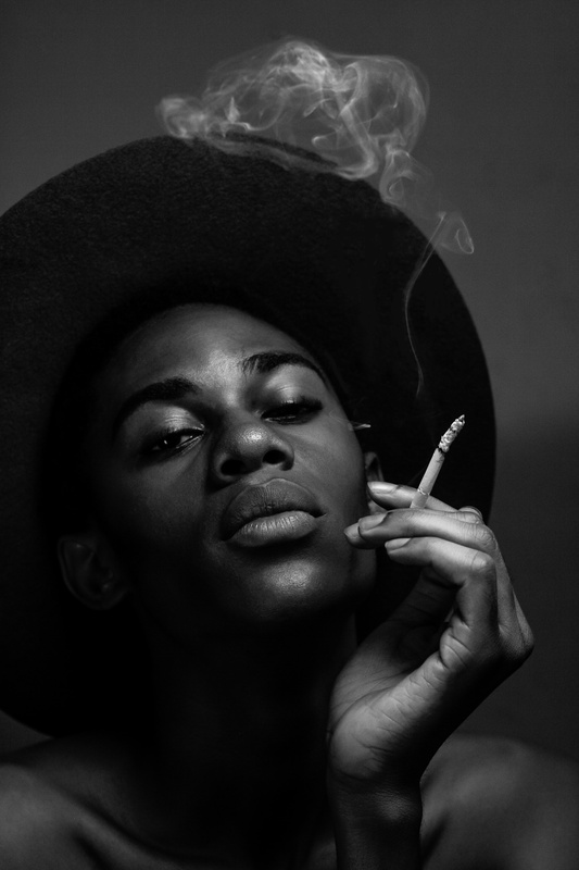 Smoking Session by Bami Ogungbe