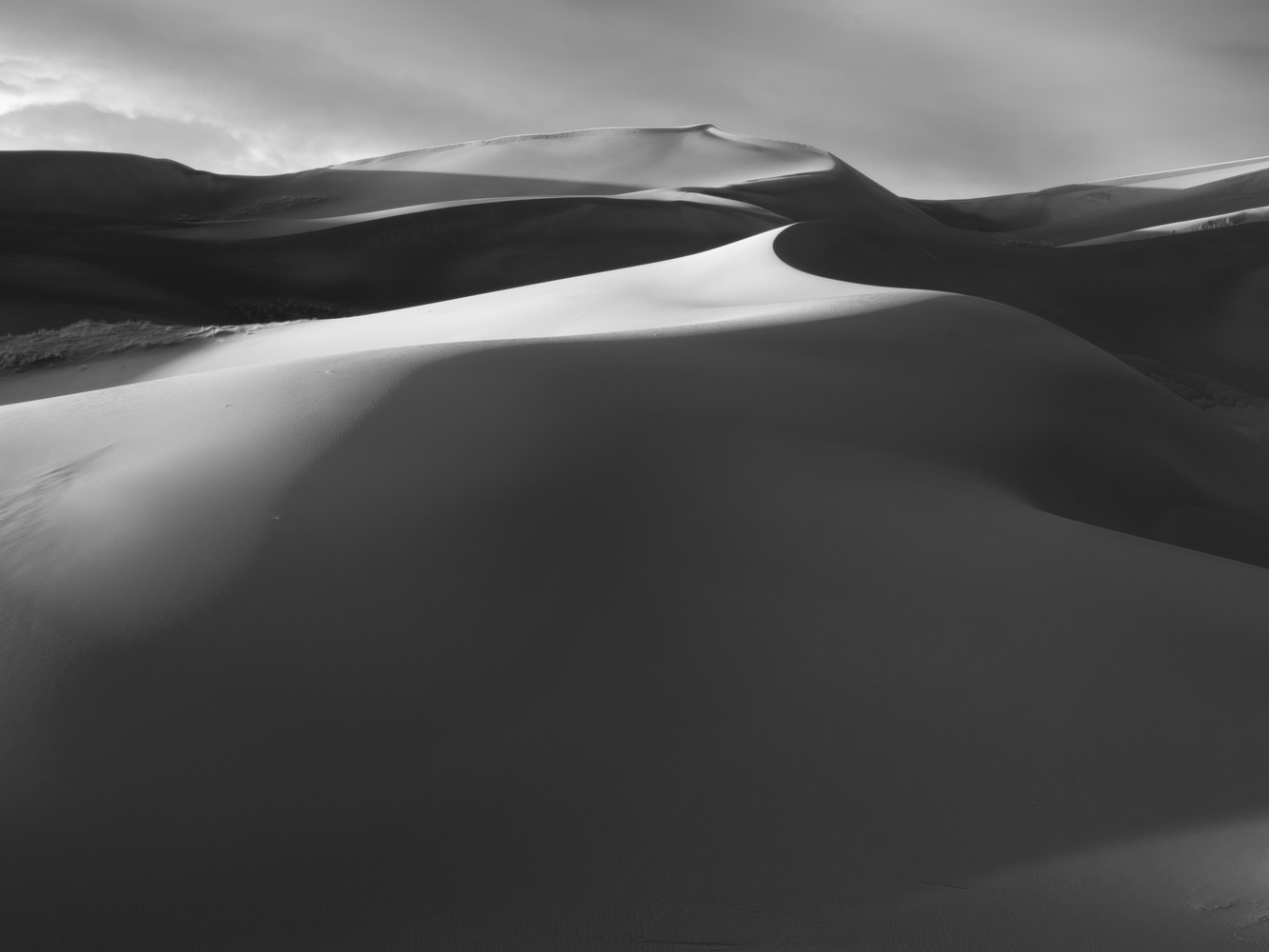 Dunes, 2 by Moishe Lettvin
