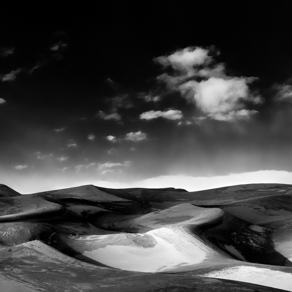 Dunes, 3 by Moishe Lettvin