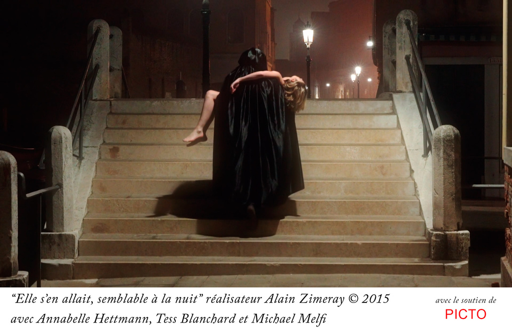 The gondolier carries the Maiden by Alain Zimeray