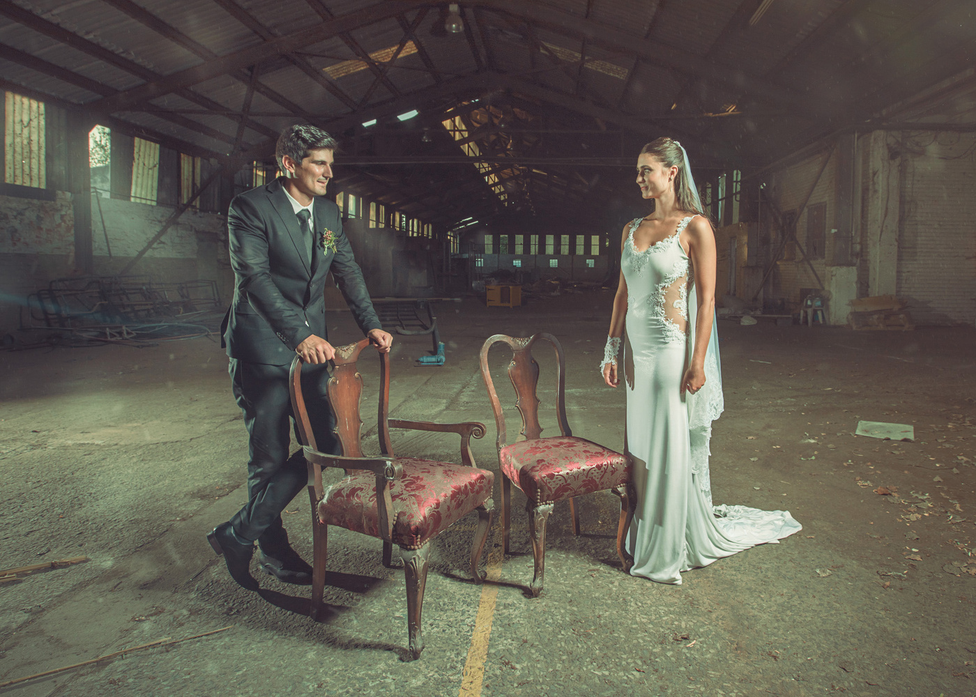 Wedding Couple Shoot by Fred van Leeuwen