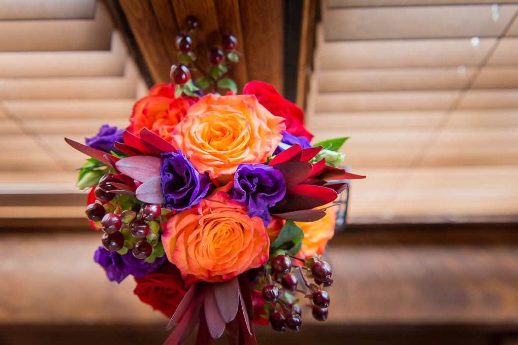 Bridesmaids bouquet by Anastasia Borisyuk