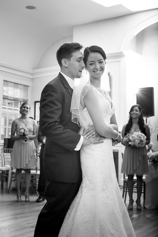 Bride and groom dance by Anastasia Borisyuk