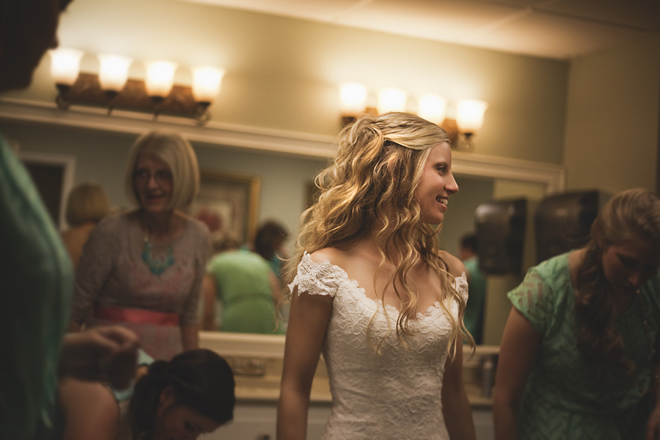 Sarah in the Bridal Chamber by Timmy Marsee