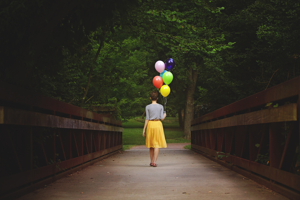 Balloons + Bridges by Timmy Marsee