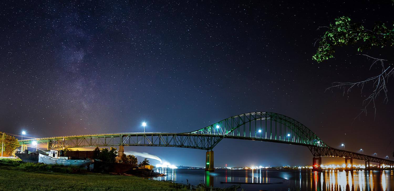 Milky Way Bridge by SEAN MALLEY