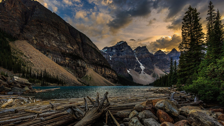 Lake Moraine by SEAN MALLEY