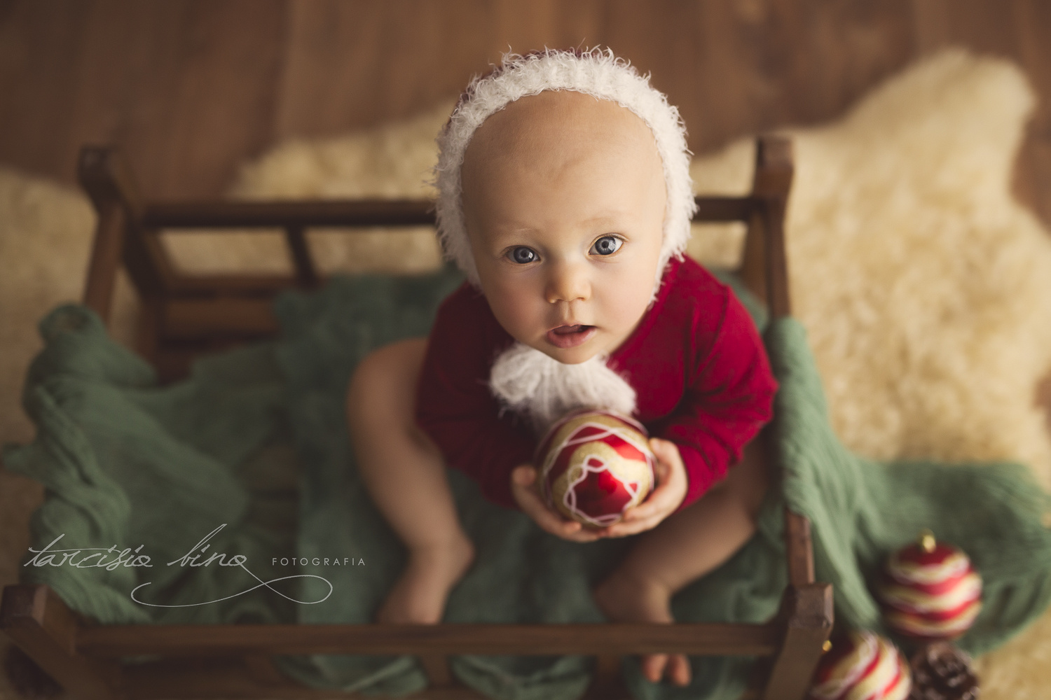 Christmas Baby by Tarcisio Bino