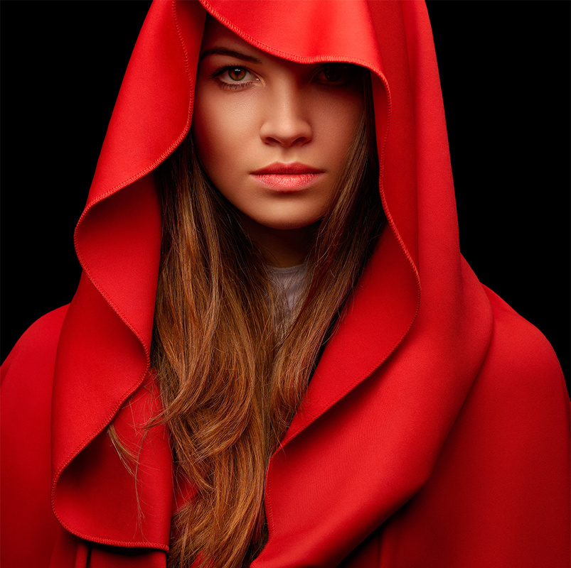 Red cape by Nicole Arsenault