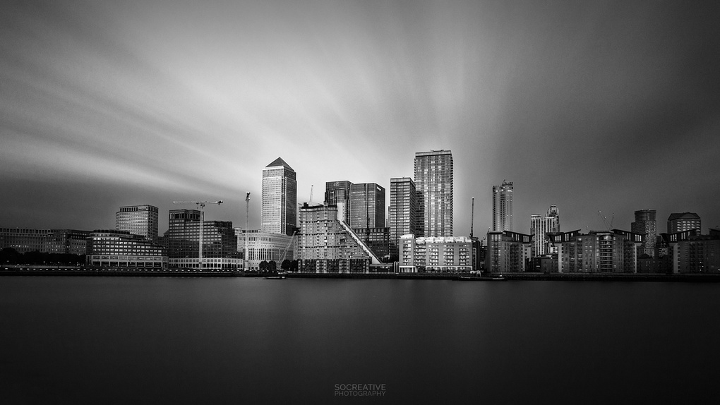 Canary Wharf by socreative photography