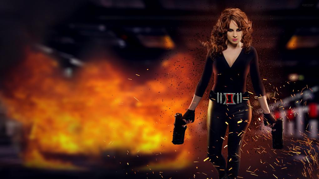 Black Widow (From Marvel's Avengers) by Davion Washington