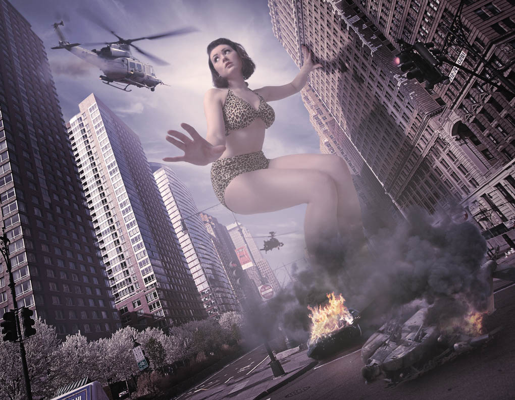 Attack of the 500 Foot Woman by Derek Johnston