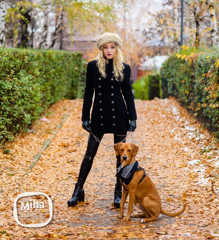 Fall/Winter portrait by miha zero