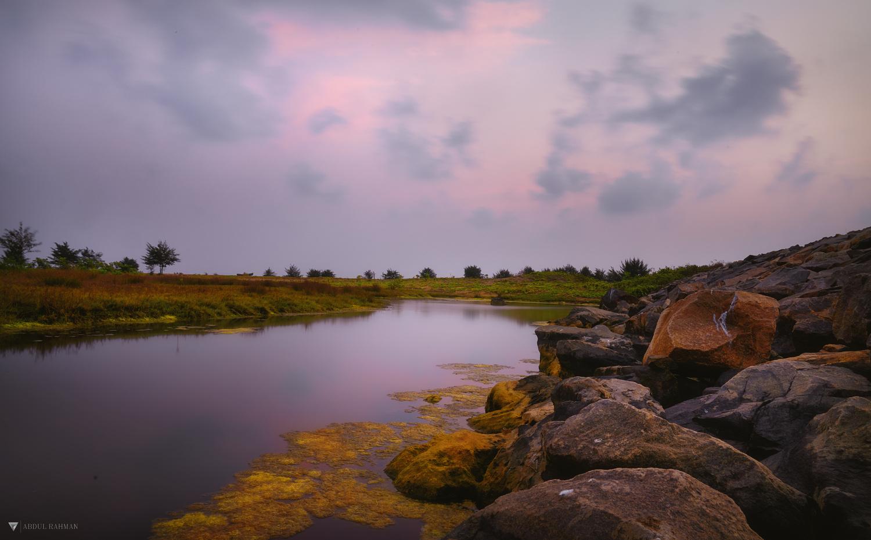 Lake Path by Abdul Rahman