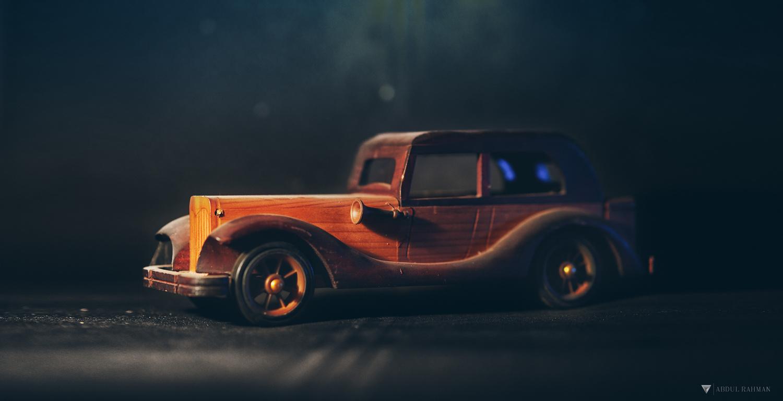 Wooden Car by Abdul Rahman