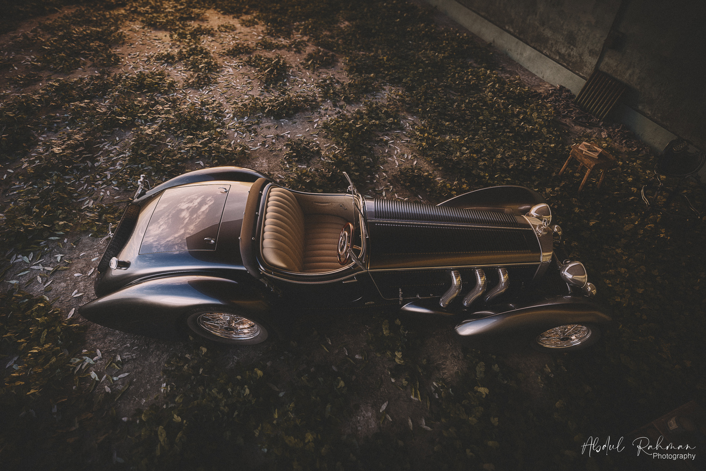 Mercedes Vintage by Abdul Rahman