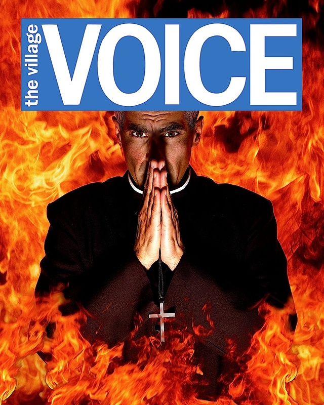 Village Voice Cover by Alex Kroke