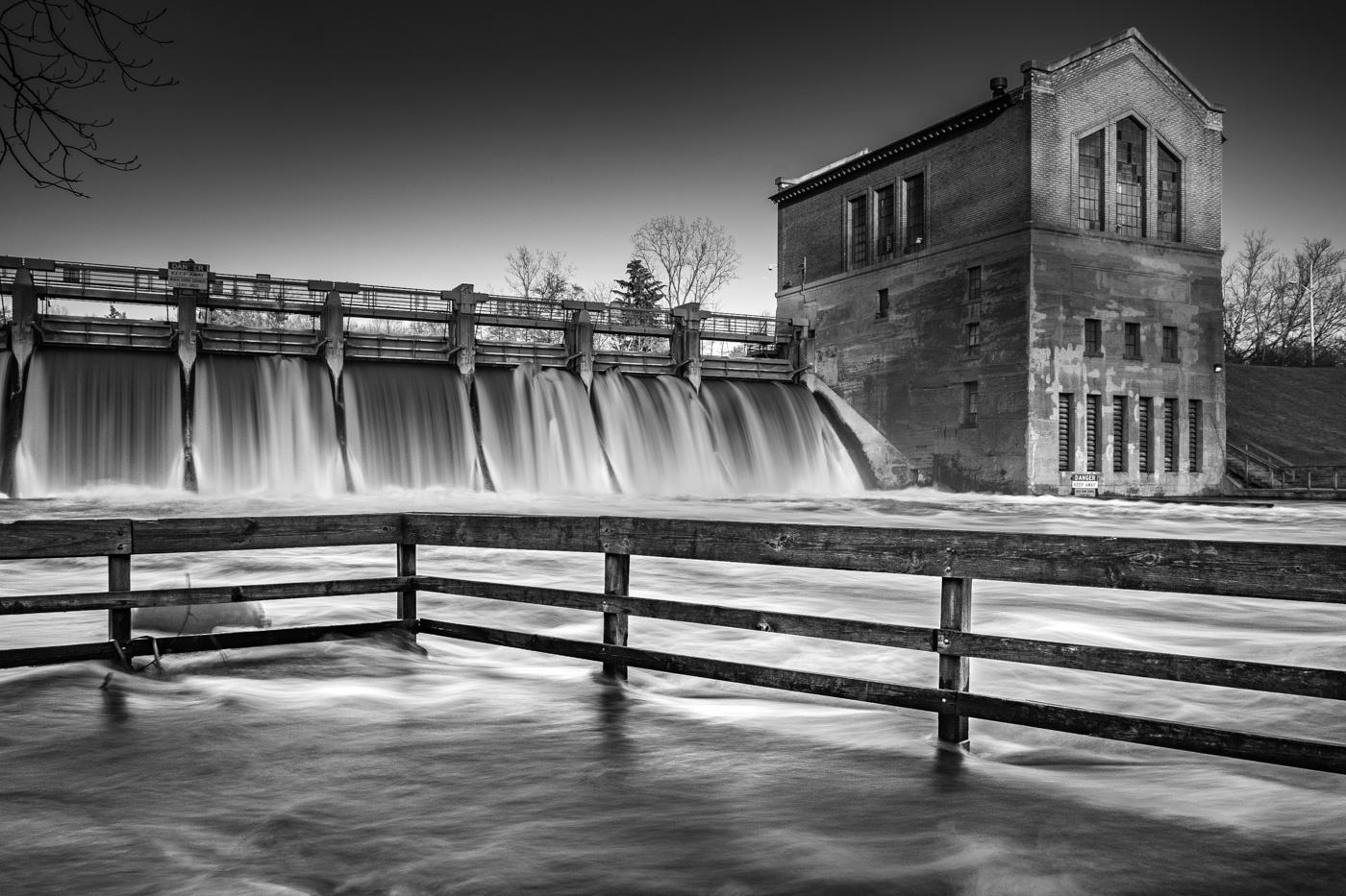 Barton Dam Flood by Tom Egel