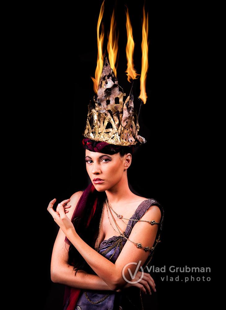 Fire Queen by Vlad G