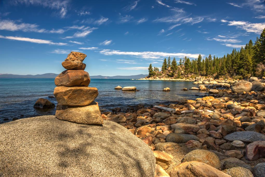 Breakfast On Tahoe by Wayne Stadler