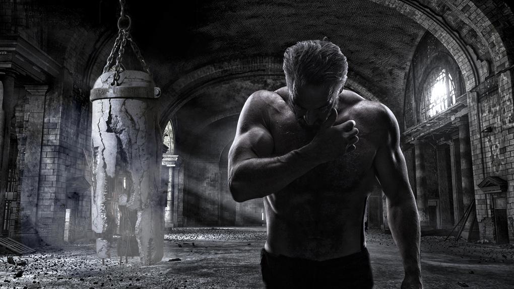 Intense workout by Chris Burgess
